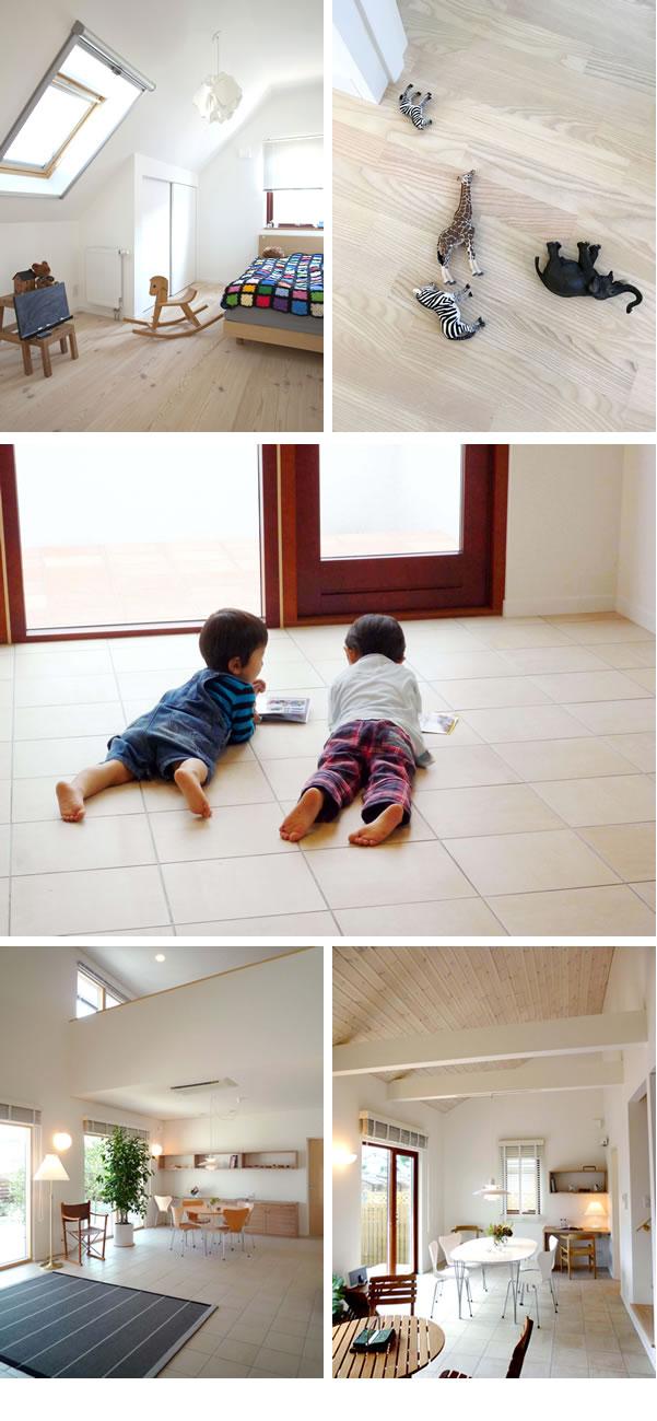 内装仕上げ(床、壁、天井イメージ1
