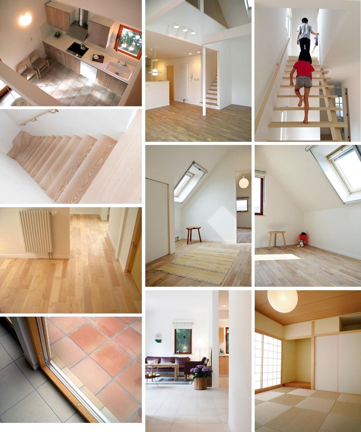 内装仕上げ(床、壁、天井イメージ2