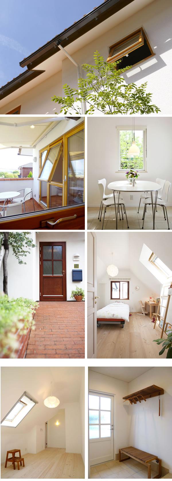 木製サッシ、玄関ドア、室内ドア、天窓イメージ1