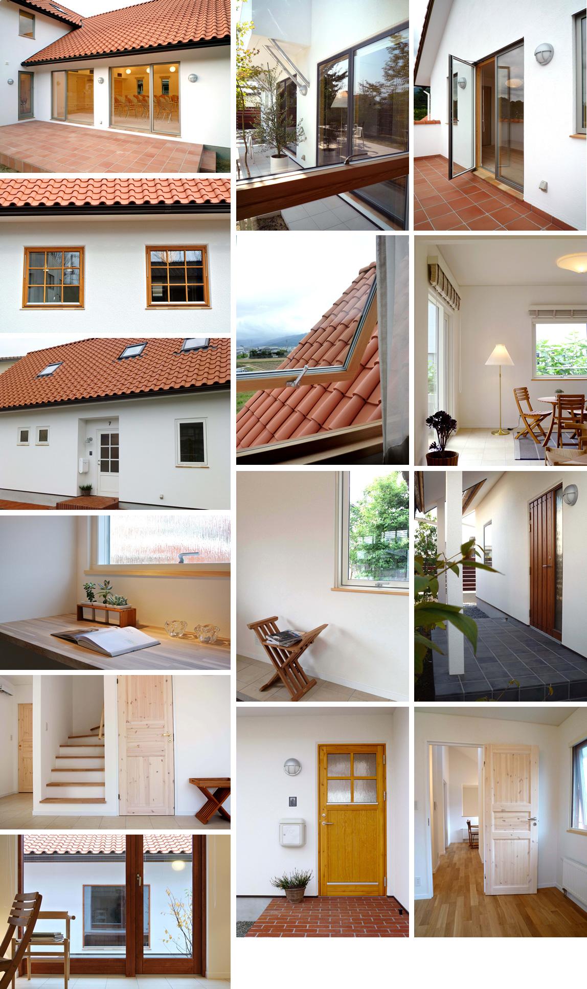 木製サッシ、玄関ドア、室内ドア、天窓イメージ2