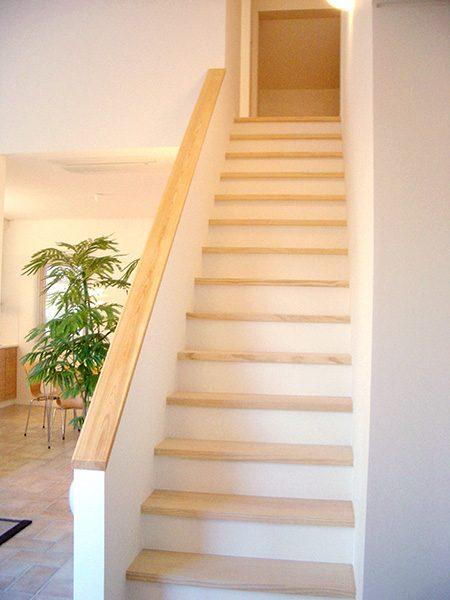 吹き抜け階段...