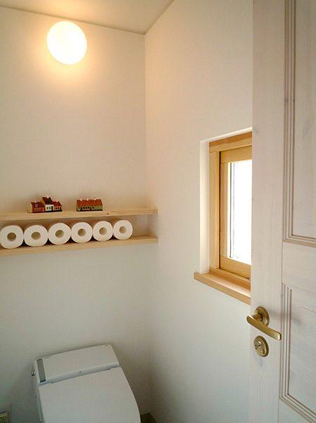明るく爽やかなトイレ...